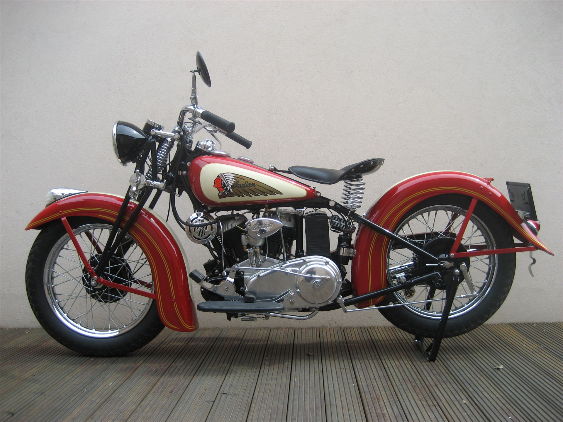 Indian Scout 1938