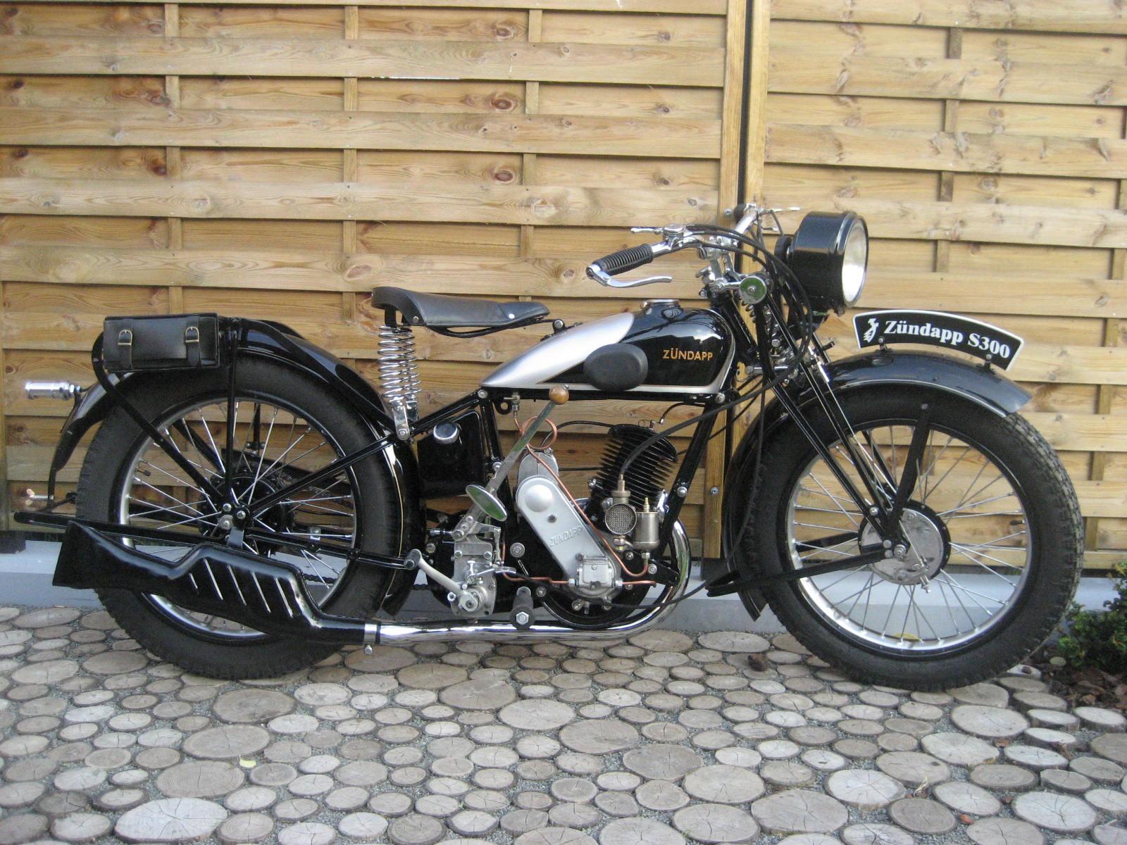Zündapp S 300 1936