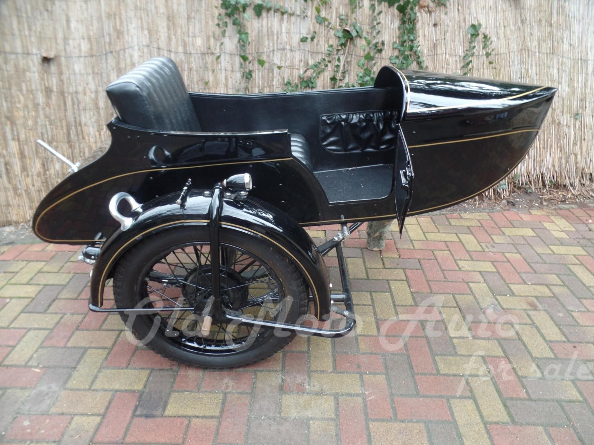Harley - Sokol Sidecar