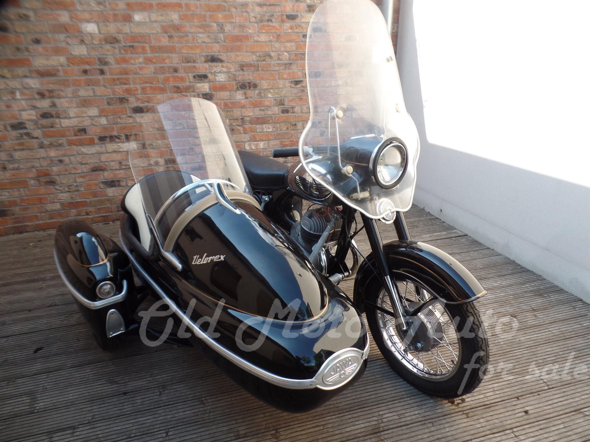 Jawa 360 + Velorex oldalkocsi