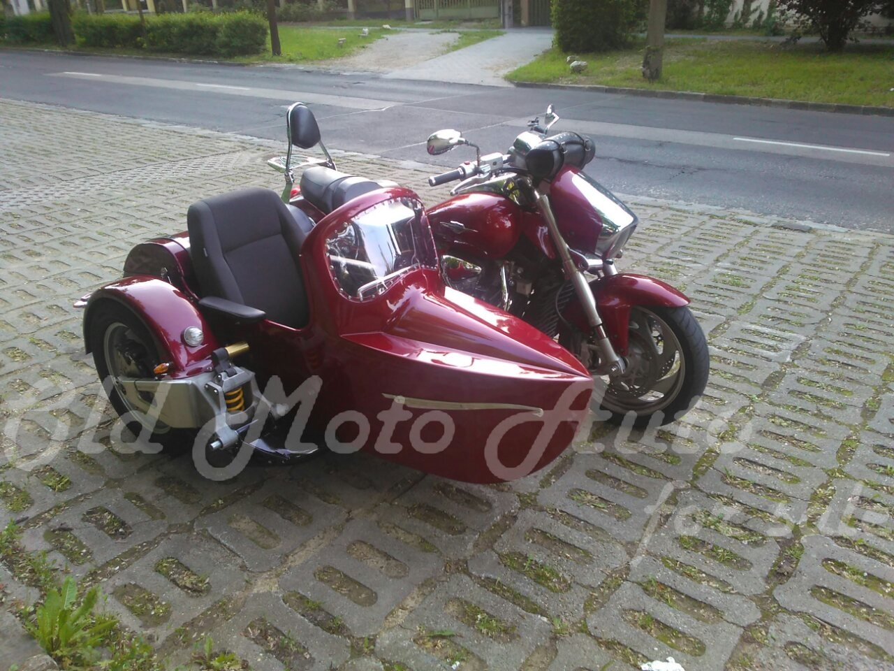 Sidecars for modern motorcycles