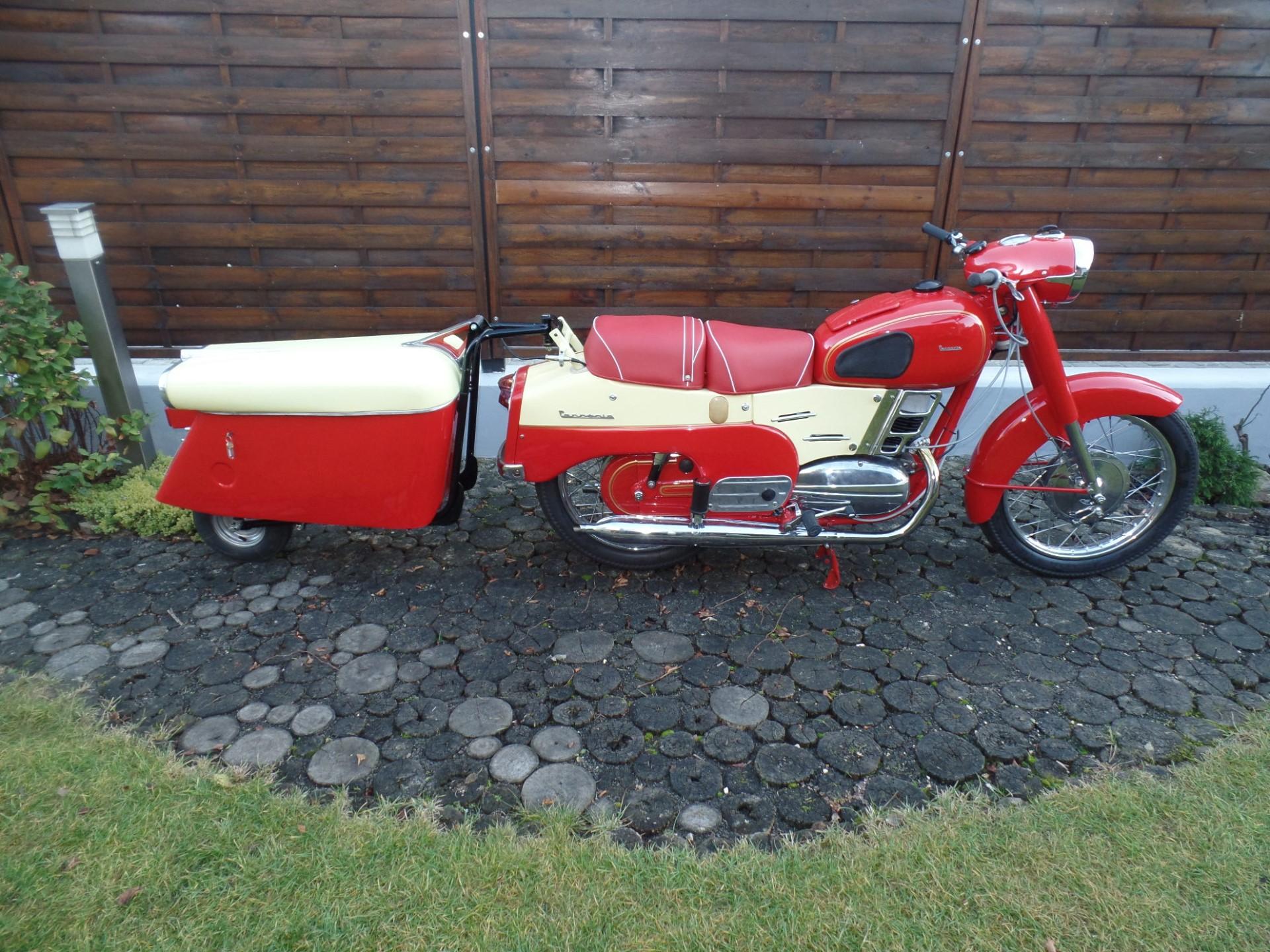 Pannonia TLB + Motorkuli