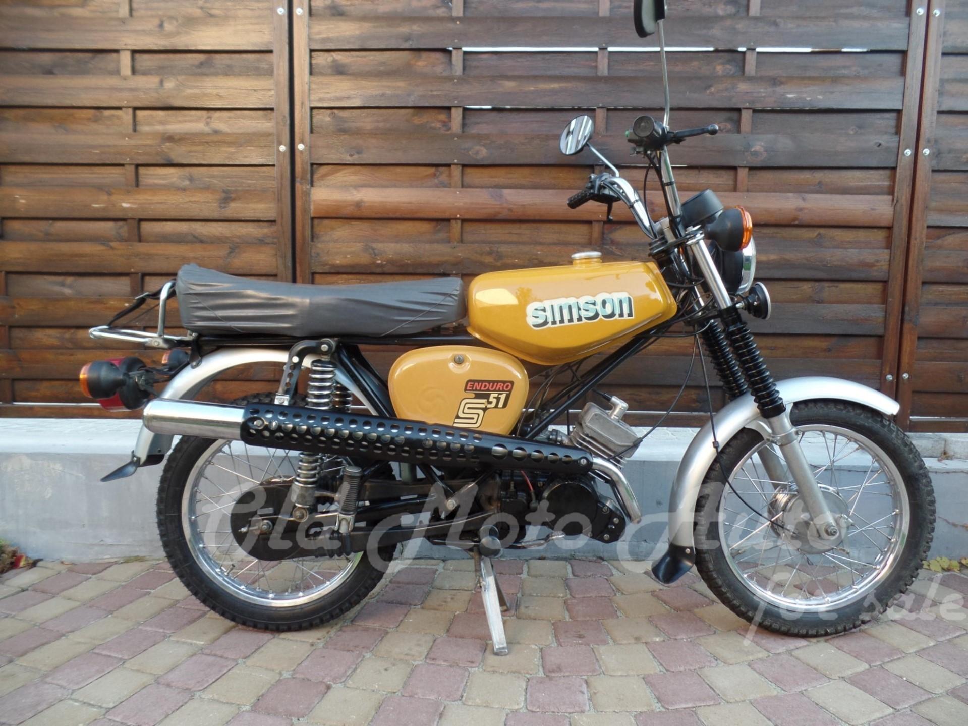 Simson Enduro S51E