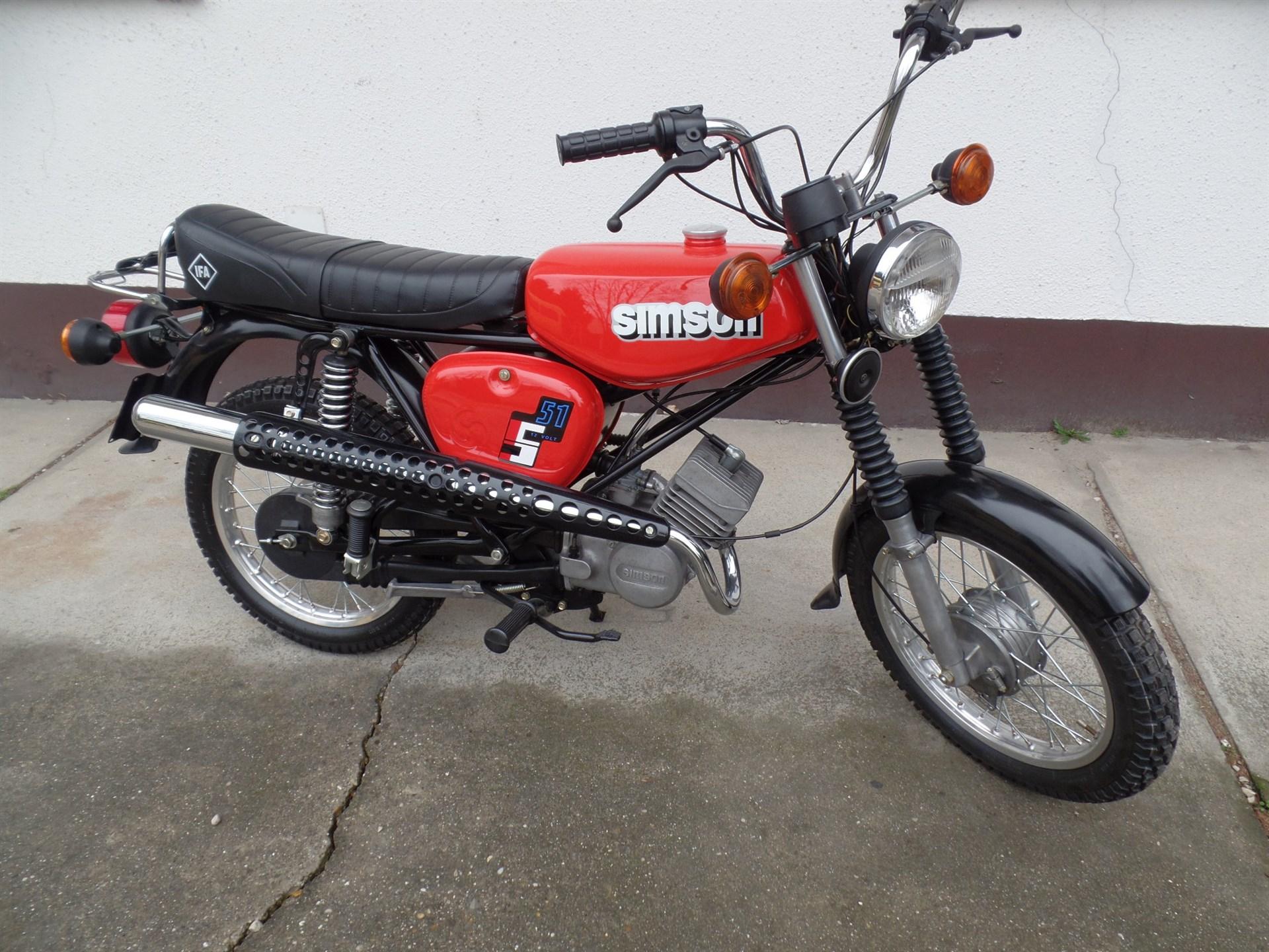 Simson Enduro S51/1E1